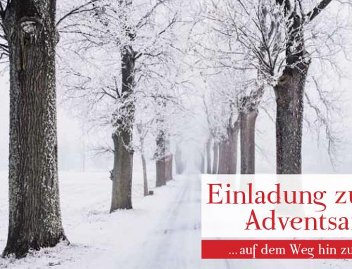 EINLADUNG ZU EINER ADVENTSANDACHT